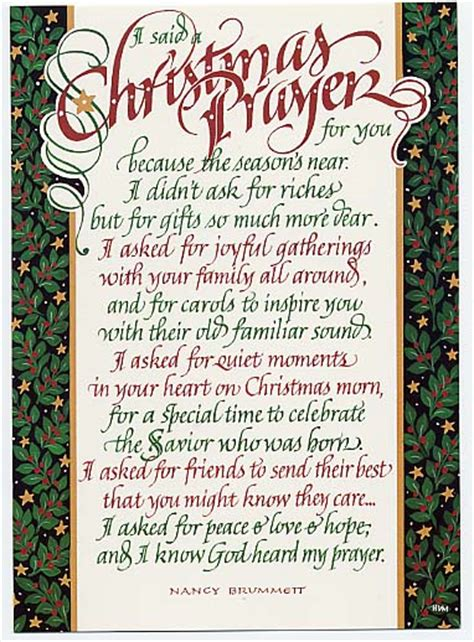 christmas invocation prayer velvet steel prayers