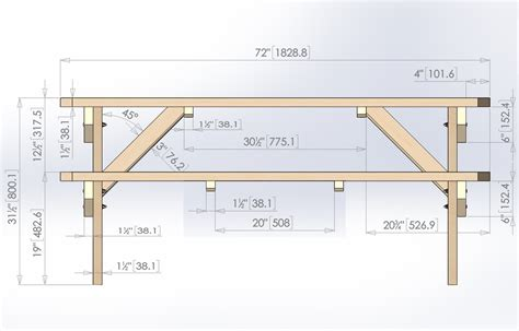 picnic table plan design for octagon picnic table woodworking projects