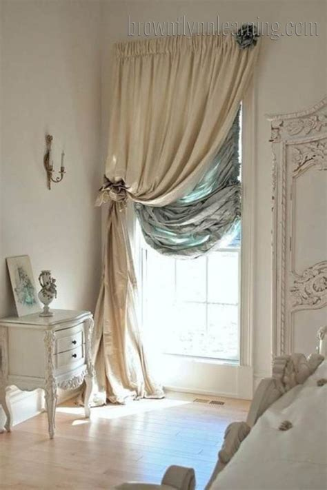 Window Drapery Ideas | bedroom curtain ideas for short windows