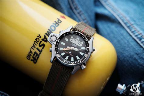 citizens dive watches review citizen aqualand promaster the blue collar dive