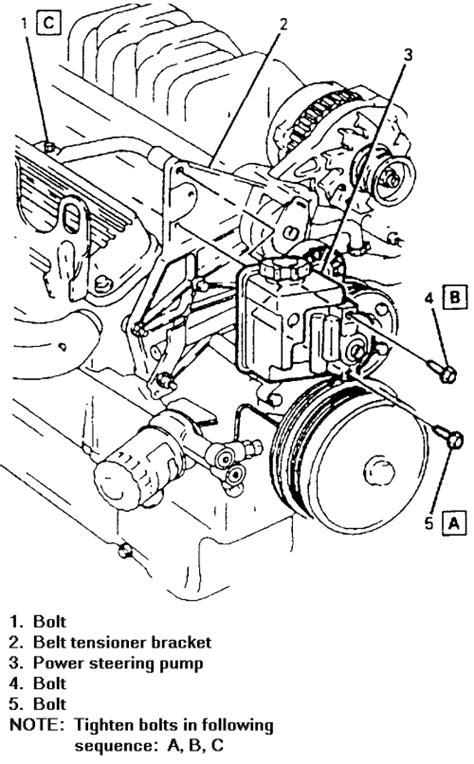 repair guides power steering pump removal installation autozonecom