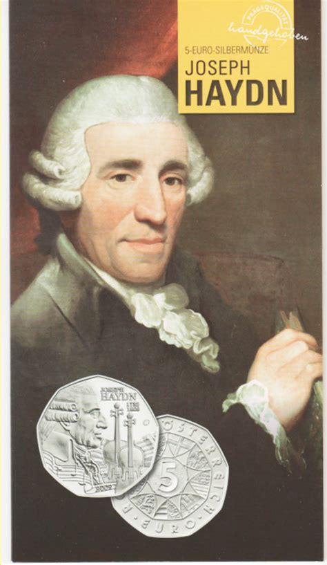 Tabellarischer Lebenslauf Joseph Haydn Haydn