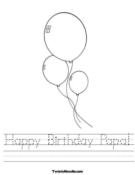 happy birthday papa coloring page free coloring pages of birthday papa