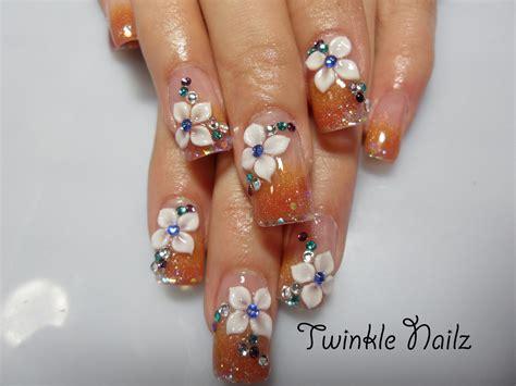 acrylic painting nails beutiful nail painting