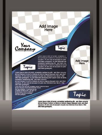 cover design elements business style cover design elements vector free vector in