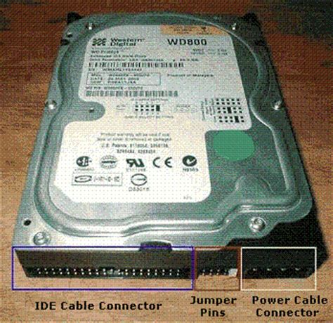 Jumper Hardisk disk types and installation