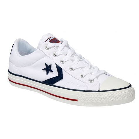 Convers White Ox converse converse plyr ox white z10 144151c unisex trainers converse from brands uk uk