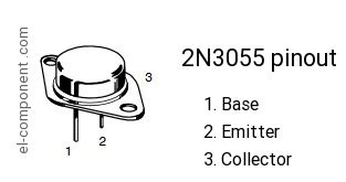 transistor 2n3055 replacement 2n3055 n p n transistor complementary pnp replacement pinout pin configuration substitute
