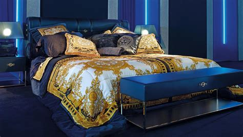 versace bedroom versace furniture signature silk bedcover buy online at