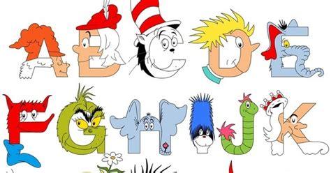 dr seuss printable alphabet letters the dr seuss alphabet jenny s noodle