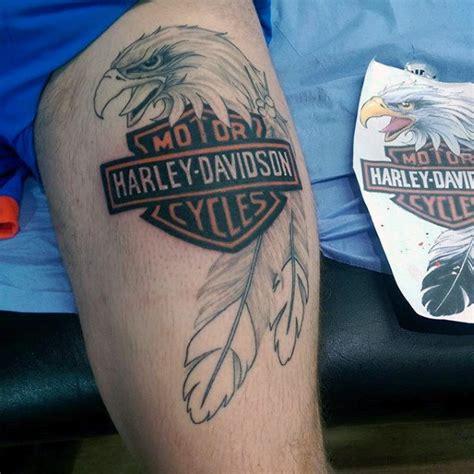 tattoo eagle harley davidson 90 harley davidson tattoos for men manly motorcycle designs