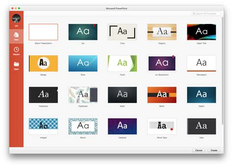 microsoft powerpoint templates for mac a on with office 2016 for mac ars technica