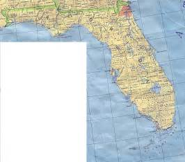 florida map with towns florida base map