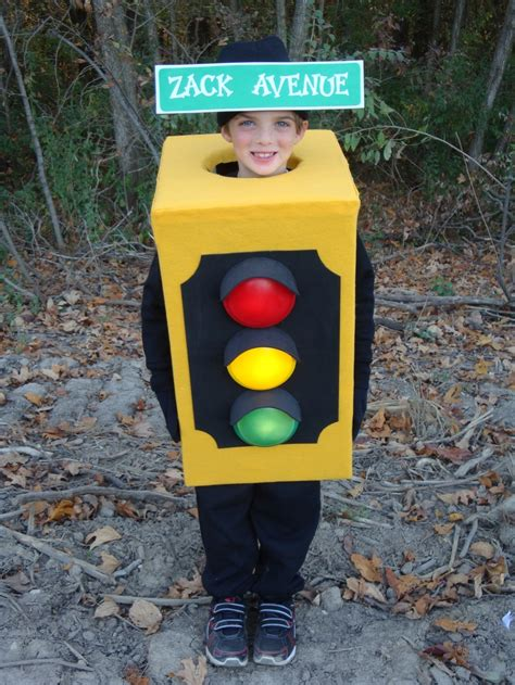 light stop light traffic boys costume