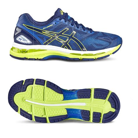 asics running shoes selection guide asics gel nimbus 19 mens running shoes ss17 sweatband
