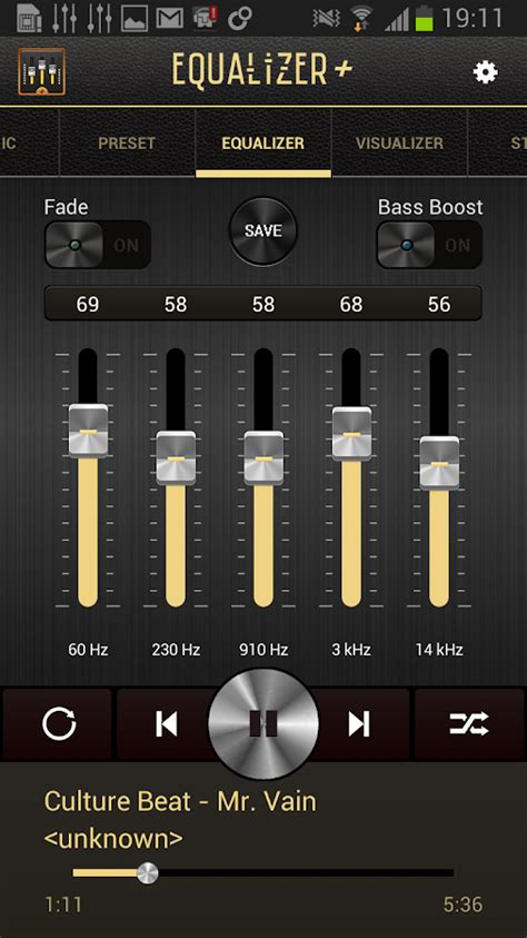 free java mp3 player with equalizer equalizer mp3 player volume screenshot
