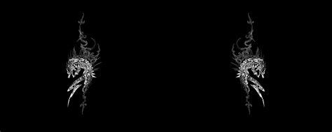 dark wallpaper dual screen photo collection black and white desktop wallpaper dual screen