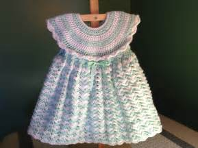 How to crochet a baby dress easy shells youtube