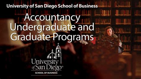 Of San Diego Mba Programs by Of San Diego School Of Business Graduate And