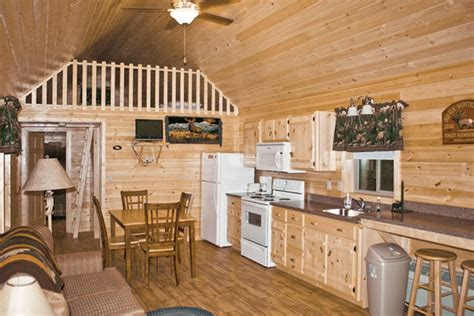 pics inside 14x32 house 16x40 deluxe lofted barn cabin