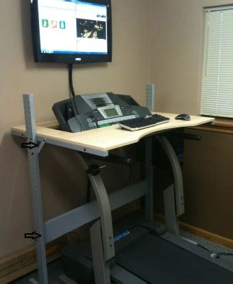 Diy Treadmill Desk Ikea Treadmill Desk Diy Do It Yourself Not