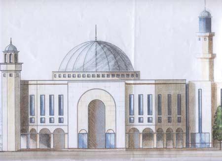 masjid building design architect design morden mosque 002