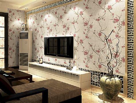 motif wallpaper dinding  ruang tamu wallpaper