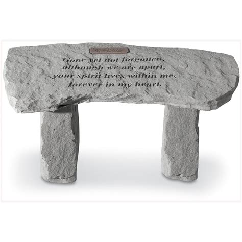 small decorative bench kay berry 174 29 quot personalized small garden bench 104247