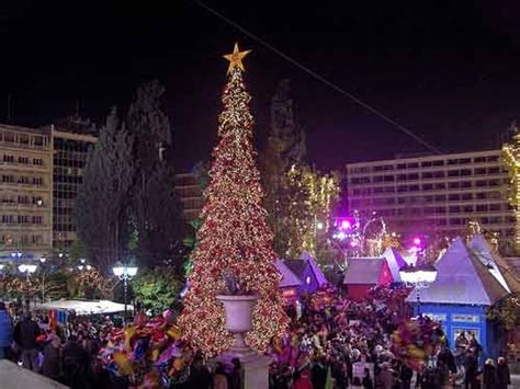 christmas decoration in greece athens photo gallery picture of athens