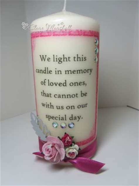 wedding memorial candle  light  candle  memory