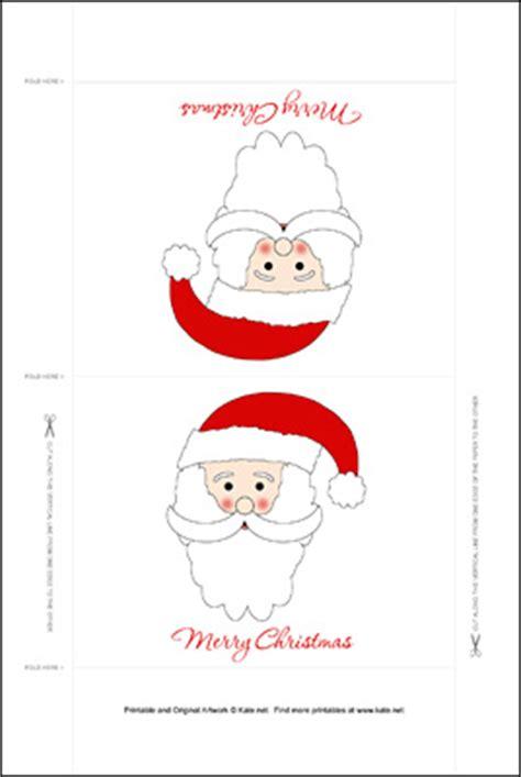 printable christmas table decorations printable standing christmas table decorations by kate net
