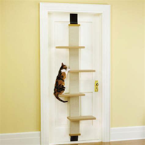 How To Make A Cat Door by The Door Cat Climber The Green