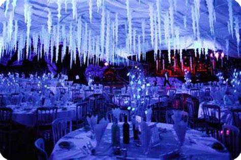 winter venue decorations image detail for winter themed evenings