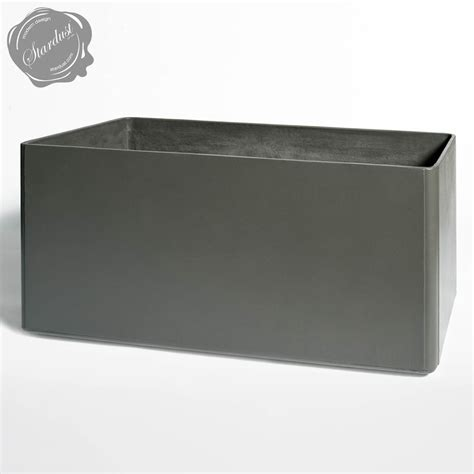 Large Rectangular Planters Outdoor by Modern Outdoor Planters Rectangular Planter Pot 24