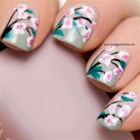 Nails Blumen by Nail Flowers Www Pixshark Images Galleries