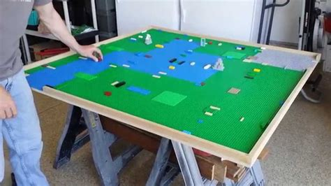 Lego Building Table by Lego Table Made Diy