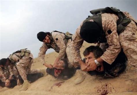 por isis lleg la 8466640746 horror por las im 225 genes de decapitaci 243 n de 18 soldados