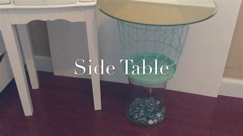 dollar tree table dollar tree diy side table my crafts and diy projects