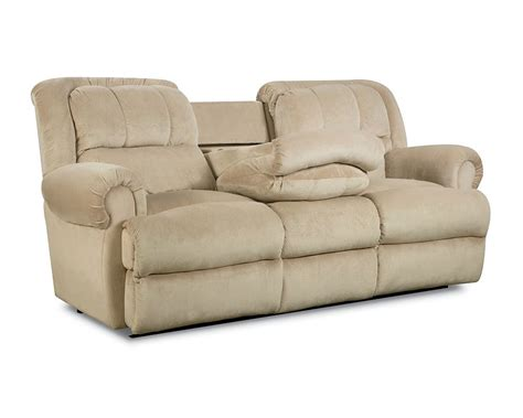 reclining sofa with fold table reclining sofa with table thesofa