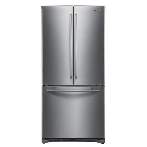 reviews of samsung door refrigerators samsung door refrigerator 20 cu ft rf217acpn sears
