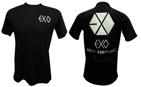T Shirt Kaos Exordium Exo ready stock exo planet t shirt dububblekshop