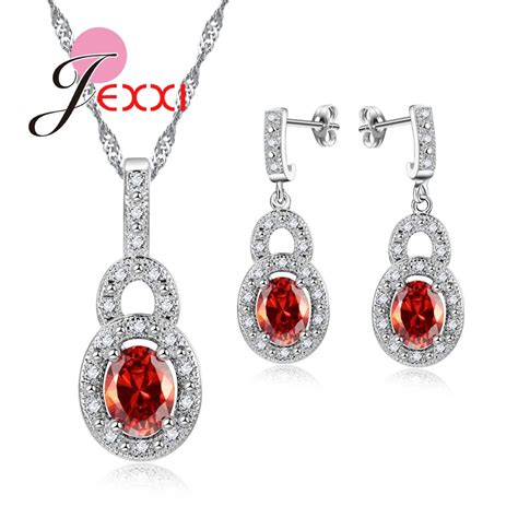 925 Sterling Silver Hoop Necklace wholesale jewelry patico 925 sterling silver jewelry set