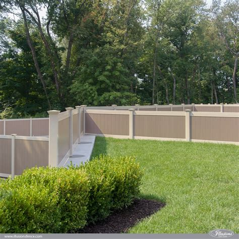 vinyl fence colors vinyl fence colors and wood grain fences