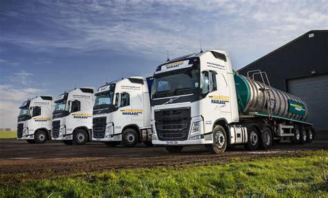 fuel efficient volvos  hornigold haulage hit  sweet spot fleet uk haulier