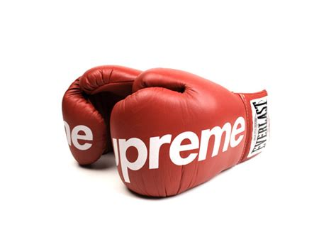 guantoni supreme supreme x everlast boxing gloves