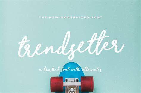 trend setter trendsetter script font befonts com