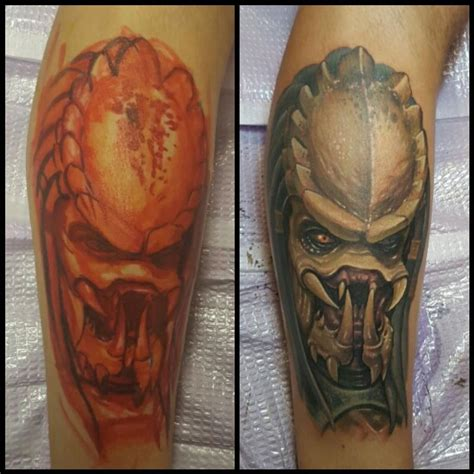 halo tattoo artist freehand predator by halo tattoos