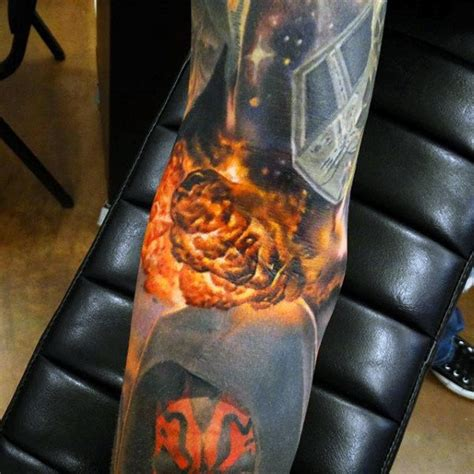 fireball tattoo top 100 best cool tattoos for guys masculine designs