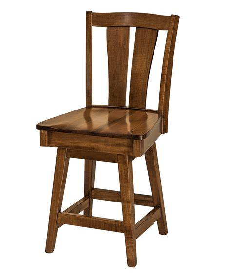 swivel counter height chairs f n amish chairs swivel counter height stool wood seat amish furniture direct usa
