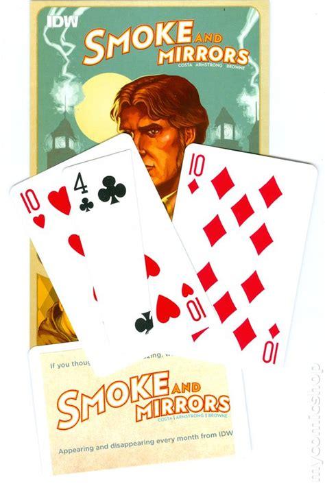 smoke mirrors books smoke and mirrors trick card promo 2012 idw comic books